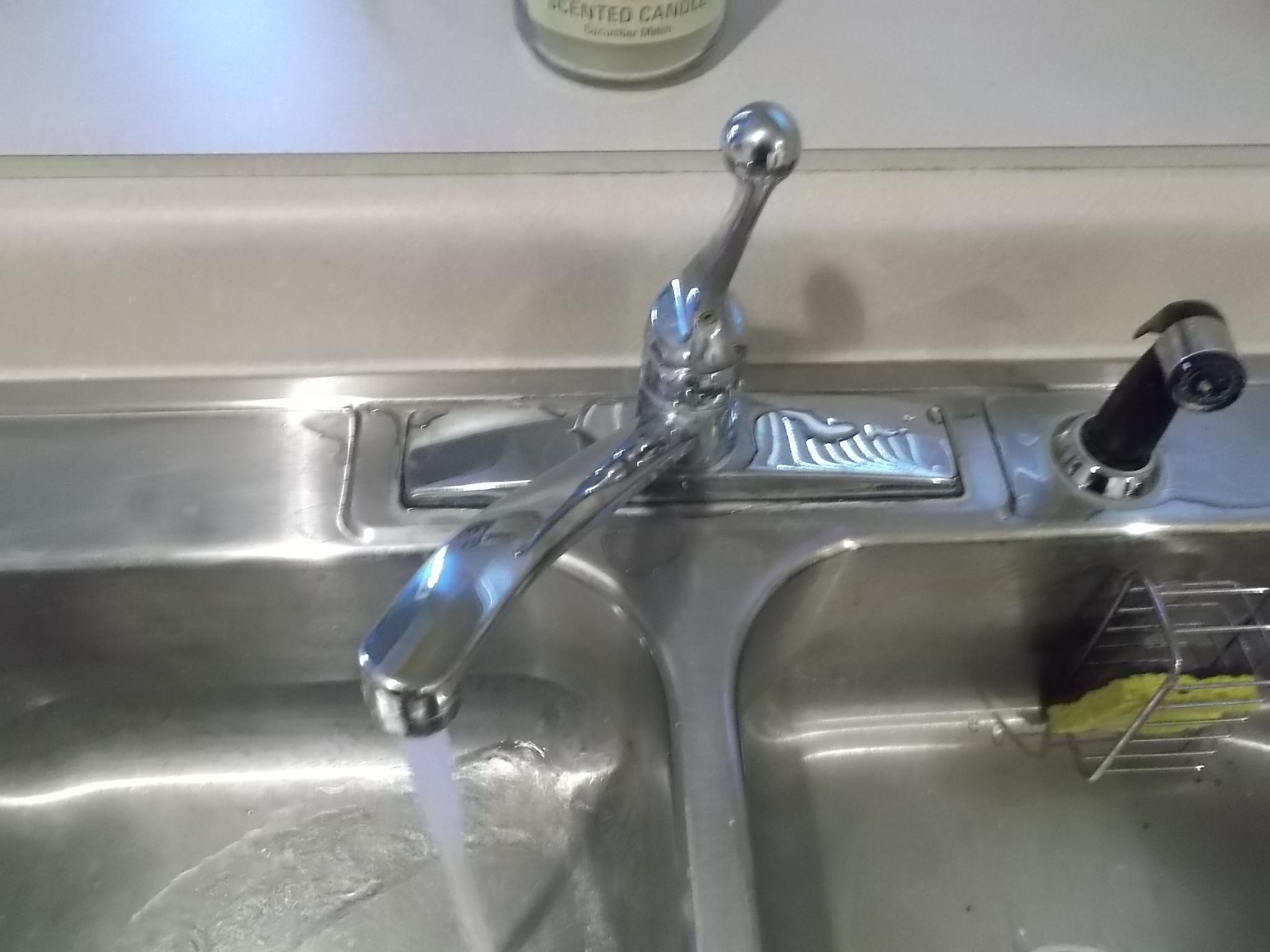 leaking sink cartridge